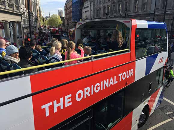 'The Original Tour' London Sightseeing - 24 Hour Ticket