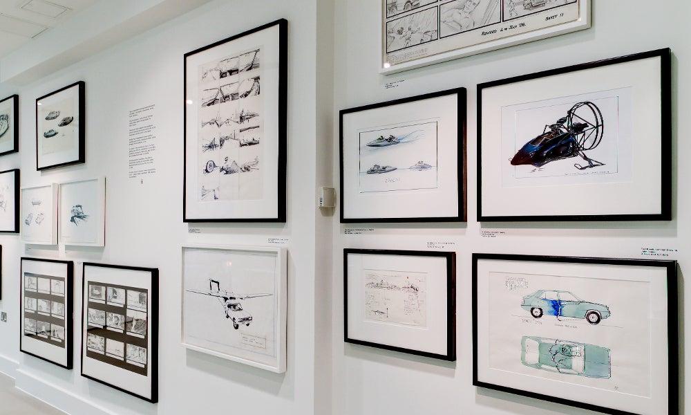 Bond In Motion Exhibition