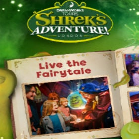 DreamWorks Tours- Shrek`s Adventure! London London Breaks