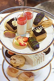 Champagne Afternoon Tea at Homage Grand Salon