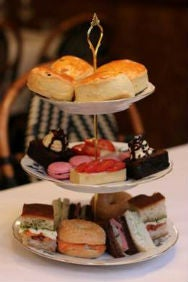 Afternoon Tea at Boulevard Brasserie - with Champagne