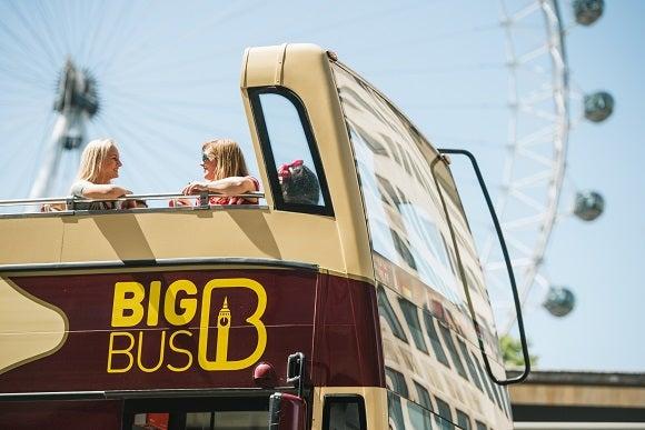 Big Bus Tour Deluxe Ticket