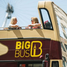 Big Bus Tour Deluxe Ticket London Breaks