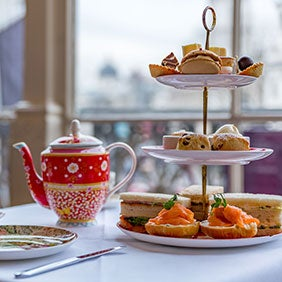Afternoon Tea at The Terrace, Amba Charing Cross Hotel