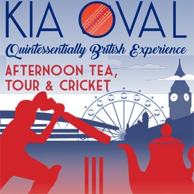 Kia Oval Quintessentially British Experience - Afternoon Tea and Tour