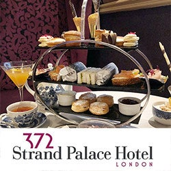 Tea at the Strand Palace