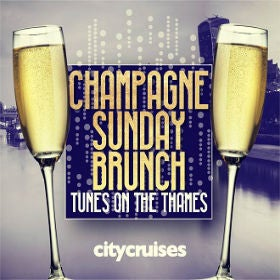 Tunes on the Thames - Champagne Sunday Brunch