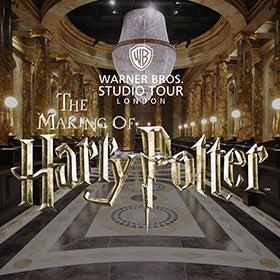 Golden Tours - Meet Warwick Davis at an Exclusive Warner Bros. Studio Tour London Event with return transportation