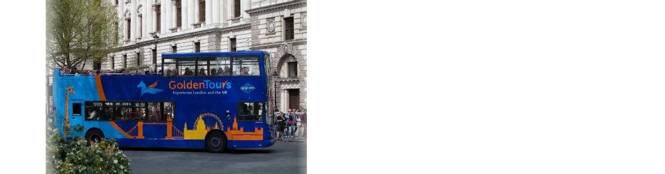 Golden Tours Hop on Hop off London Bus Tour 24 Hours