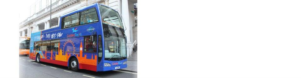 Golden Tours Hop on Hop off London Bus Tour 48 Hours