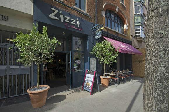 Pre-Theatre Meal at Zizzi Charlotte Street