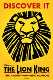 The Lion King - London Tickets poster