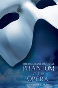 The Phantom of the Opera Tickets poster