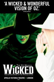 Wicked: London Tickets poster