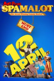 Spamalot Tickets poster