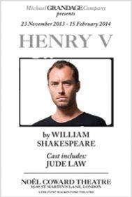 Henry V Tickets poster