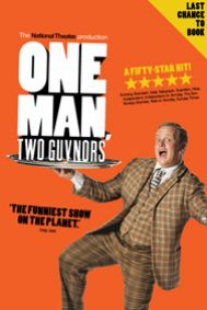 One Man, Two Guvnors Tickets poster
