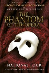 The Phantom of the Opera: Edinburgh Tickets poster