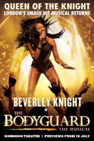 The Bodyguard Tickets poster