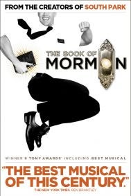 The Book of Mormon Tickets poster