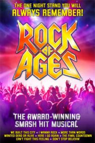 Rock of Ages: Edinburgh Tickets poster