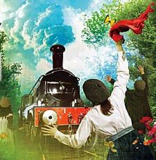 The Railway Children Steams Into Kings Cross Station