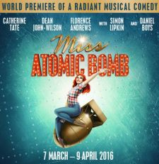 Catherine Tate leads cast of Miss Atomic Bomb