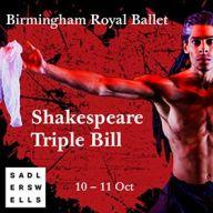 Birmingham Royal Ballet - Shakespeare Triple Bill