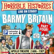 Horrible Histories - Barmy Britain - Part 4 Tickets