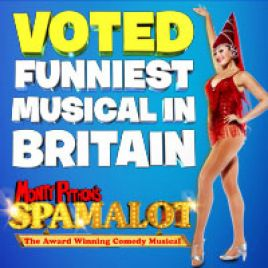 Spamalot & Dinner Packages