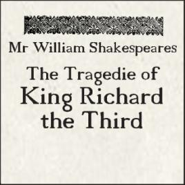 Richard III & Dinner Packages