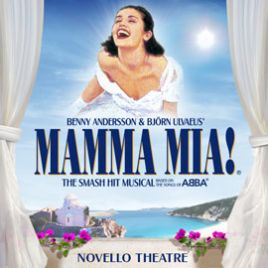 Mamma Mia! & Dinner Packages