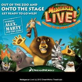 Madagascar Live! - Brighton