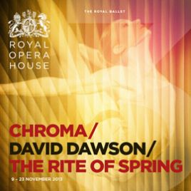 Mixed Ballet: Chroma, New Dawson and The Rite Of Spring