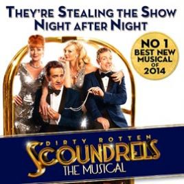 Dirty Rotten Scoundrels & Dinner Packages