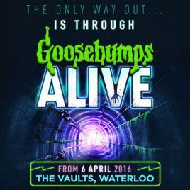 Goosebumps Alive