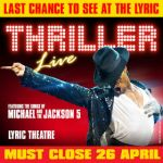 Thriller - Live tickets