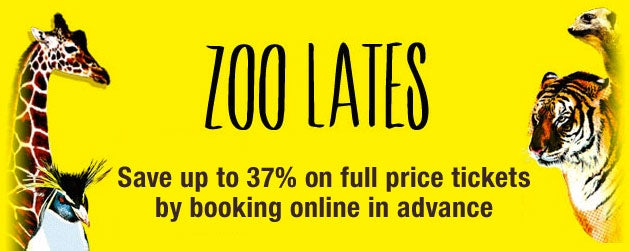 Zoo Lates Tickets