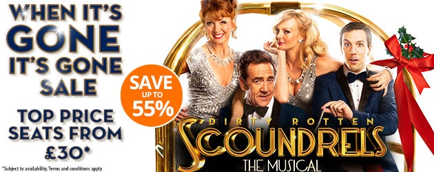 Dirty Rotten Scoundrels Tickets