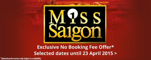 Miss Saigon Tickets