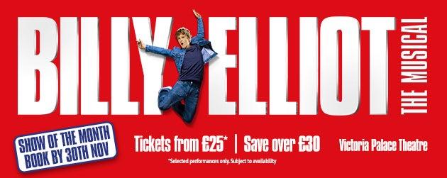 Billy Elliot Tickets