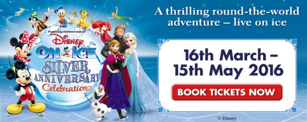 Disney On Ice Presents Silver Anniversary