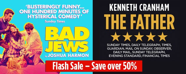 Bad Jews and The Father Tickets
