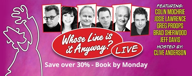 Whose Line Is It Anyway Tickets