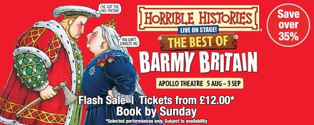 Horrible Histories Tickets