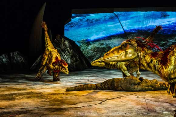 Walking with Dinosaurs- The O2 Arena