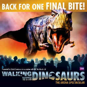 Walking with Dinosaurs: Liverpool