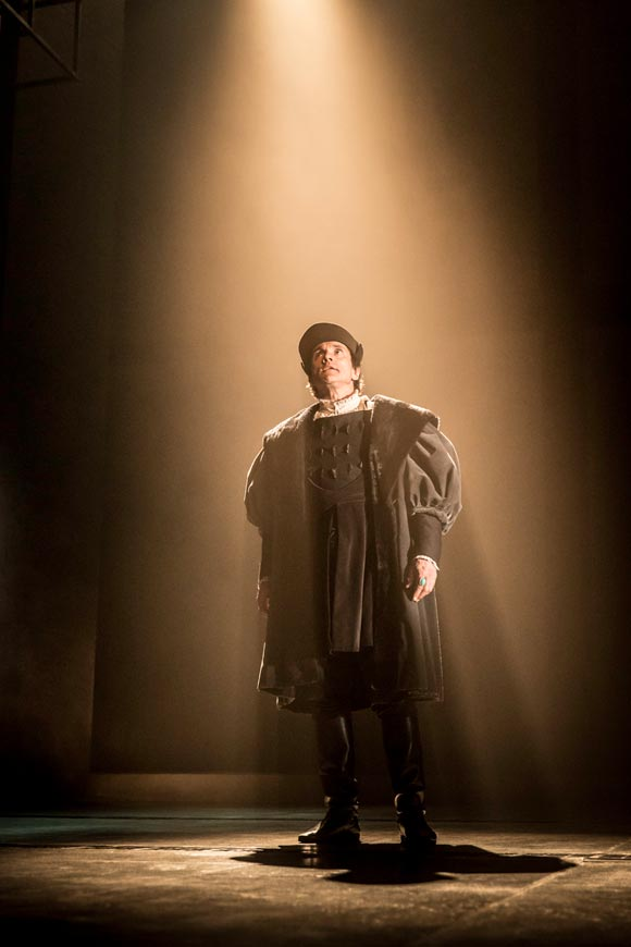 Wolf Hall at the Aldwych Theatre