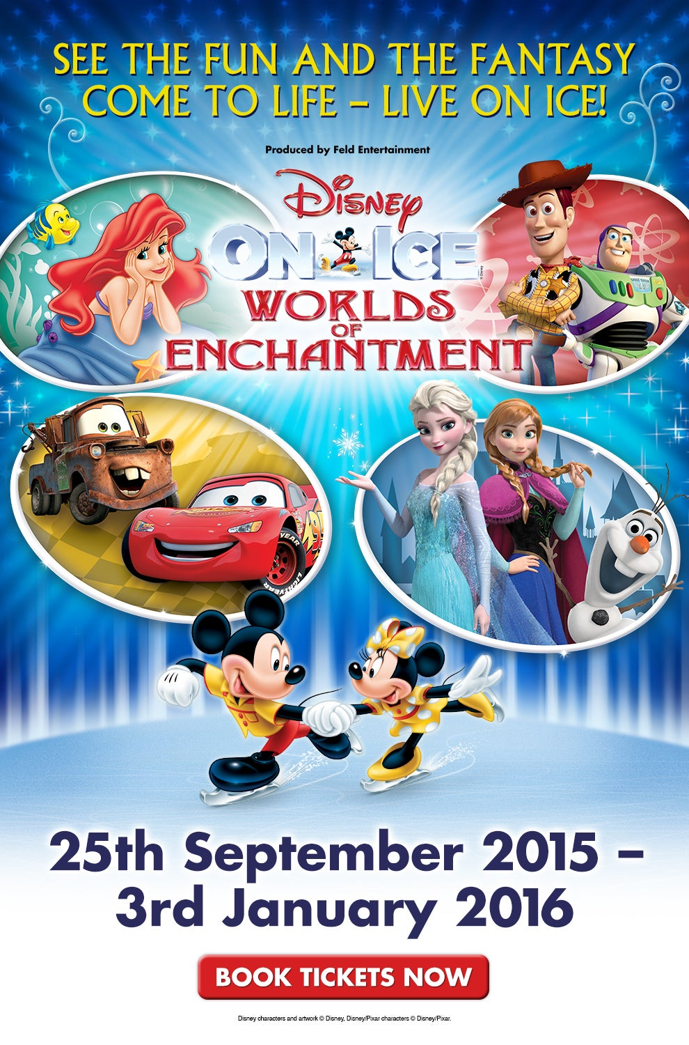 Disney On Ice Presents World's of Enchantment: Glasgow