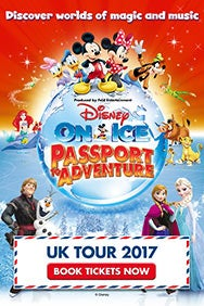Disney On Ice Presents Passport To Adventure (Manchester)